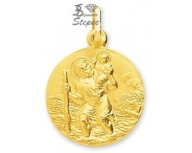 Médaille Saint Christophe or Robbez Masson - 20067