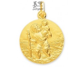 Médaille Saint Christophe or Robbez Masson - 20068