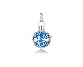 Pendentif argent boule sonore turquoise Engelsrufer - ER-06-S