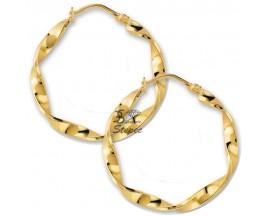 Boucles d'oreilles créoles plaqué or GL Paris - Altesse - 20258640100