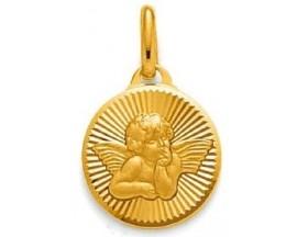 Médaille ange plaqué or GL Paris - Altesse - 202820401K3