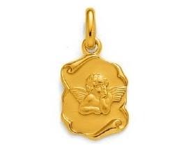 Médaille ange plaqué or GL Paris - Altesse - 202821901K3000