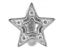 Charm argent Endless JLO Shiny Star - 1175