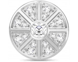 Charm argent Endless JLO White Night Sky - 1230