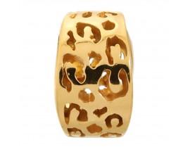 Charm argent plaqué or jaune Endless JLO Leopard Cut - 1500
