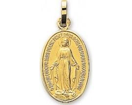 Médaille miraculeuse or Stepec - 20490