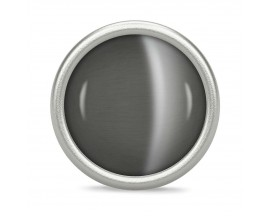 Charm argent Endless Big Grey Love Dome - 41365-2