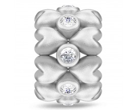 Charm argent Endless Forever Love - 41410