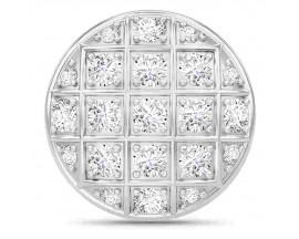 Charm argent Endless White Prosper Dome - 41500