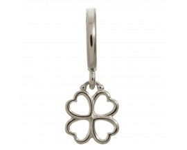 Charm argent Endless Clover - 43200