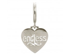 Charm argent Endless Endless Coin - 43266