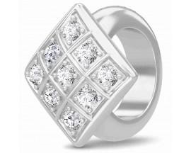 Charm argent Endless JLO Sparkling Cubes - 1181