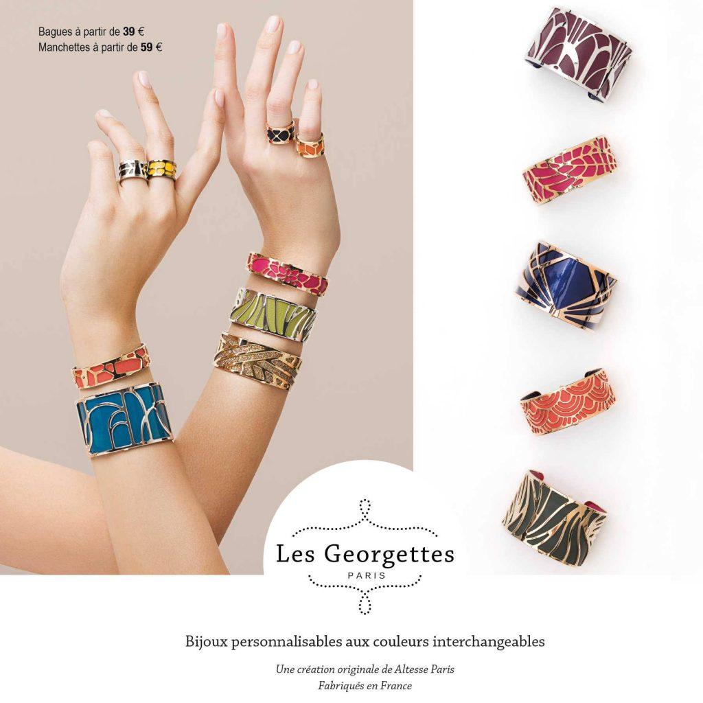 bagues et bracelets Les Georgettes bijouterie stepec