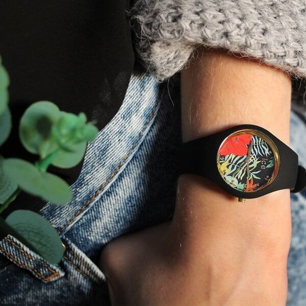 Montre ICE flower - Jungle - Small