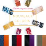 Egayez votre rentrée avec Lesgeorgettes et leurs NOUVEAUX coloris cuir bracelets !