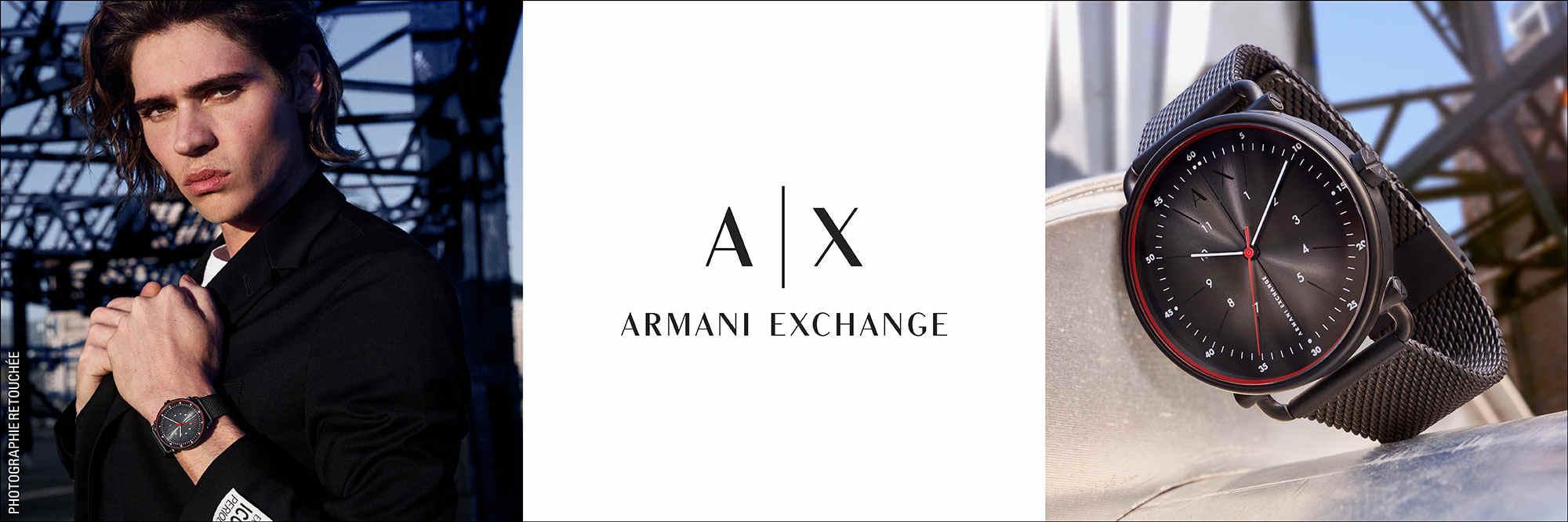 montre armani exchange