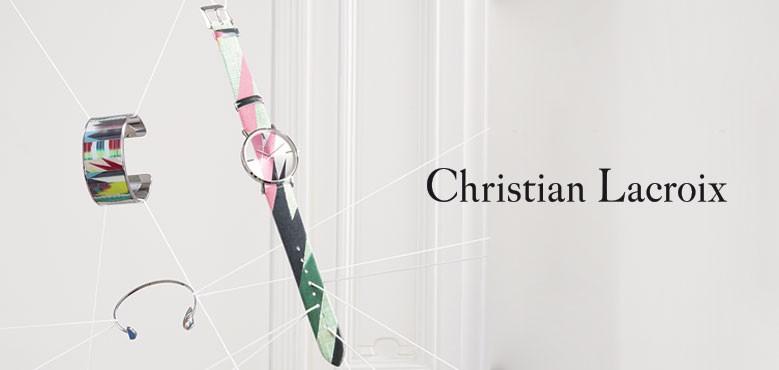 Christian Lacroix bijoux et montres